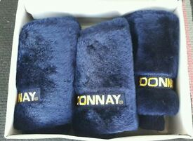 Donnay Headcover Set Golf Club Covers (NEW)