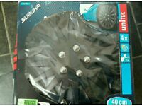 BNIB 16 inch black wheel trims