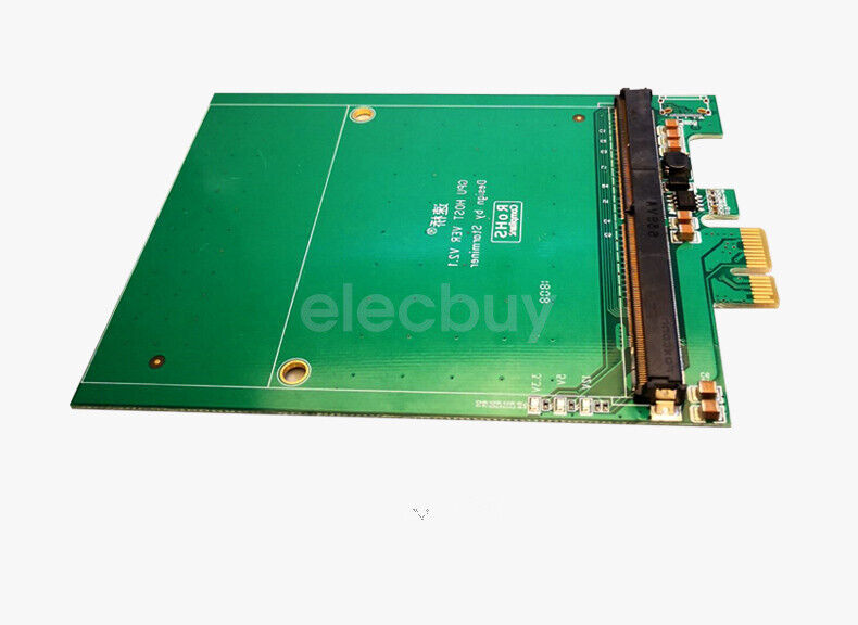 New PCI-E to MXM 3.0 Graphics Expansion Card 75W MAX for Mining ETH ZEC ETC
