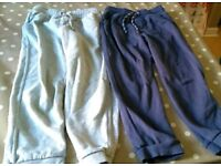 Two pairs of M&S 6-7 year old joggers