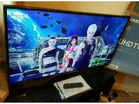 Samsung 43 inch 4K Ultra HD HDR Smart led tv UE43KU6000 with built-in WIFI, quad core processor