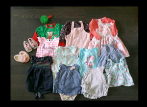 Baby Girl Summer Outfit Set $15