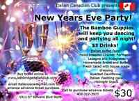 New Years Eve at the Italian Canadian Club !