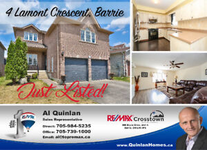 Welcome to this 2732 Sq ft 2 Story home in South Barrie