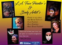 Face Painting/ Air brush Tattoo's/Sparkle Tattoo's