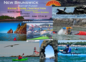 Eastern Outdoors Kayak Excursion-5 days on the Bay of Fundy