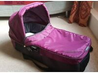 Baby jogger compact carry cot (purple)