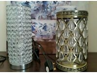 Table lamp and Floor lamp