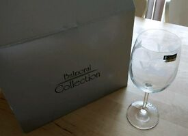 Balmoral collection wine glasses