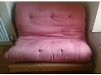 Double Futon Frame + Mattres REDUCED