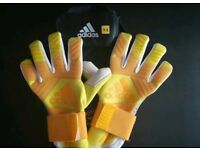 Goalkeeper Gloves: Adidas Ace Trans Pro Limited Edition Yellow 2018 (Next Gen)