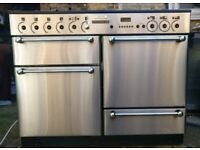 Rangemaster Professional 110 Stainless Steel Gas Range Cooker***FREE DELIVERY***3 MONTHS WARRANTY***