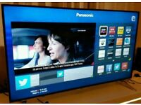 """Panasonic TX-48CX400B. 48"""" Ultra HD 4K Freeview HD Smart 3D LED TV. NEW CONDITION FULLY WORKING"""
