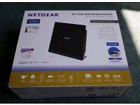 Netgear AC1200 Dual Band Gigabit Wireless Modem Router