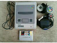 Snes Super Nintendo + Super Mario Bros Allstars