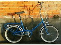 Vintage fold up bike in great condition