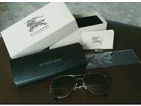 Women's Burberry Aviator Sunglasses