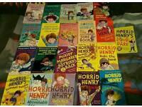 21 Horrid Henry books