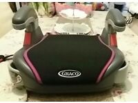 NEW GIRL'S GRACO CAR BOOSTER SEAT