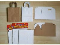 Job lot Wedding / Party Favour boxes and bags