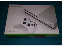 Xbox one s as new