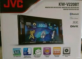 Brand new JVC Touchscreen head unit