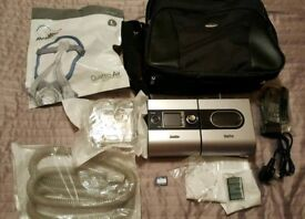 Resmed S9 Escape Cpap machine sleep apnea mask incuded FREE UK DELIVERY OSA set RRP: $1350 apnoea