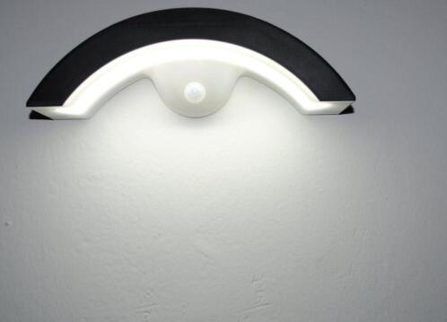 ≥ wandlamp ufo: solar buitenlamp mét sensor **nieuw** verlichting