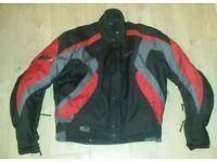 """Swift Motorcycle Jacket Size XL 44"""" Chest Bike Jacket"""