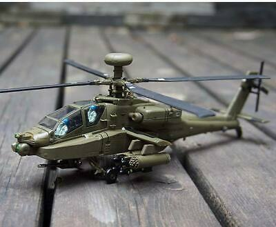AirForce1 AF1 US AH-64A Apache Attack Helicopter 1/72 Diecast Model USA SHIPPING