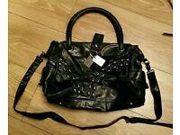 mischa Barton leather handbag