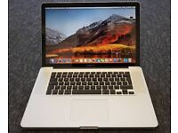 MacBook Pro i7 mid-2012 - no charger or box