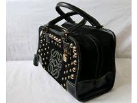 RRP £1,950 Genuine LOEWE Amazona Black leather & suede handbag. (kors chanel prada chloe)