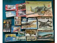 Plastic Model Kit Collection - Airfix, Revell, Italeri, Tamiya, AMT, Monogram etc - Job Lot