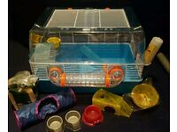 Large Hamster/Gerbil Cage + Lots of Accessories