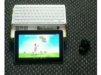 """10.1"""" hanspree android tablet 16GB dual cam wifi bluetooth hdmi"""