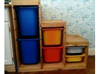 Ikea trofast toy storage unit