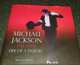 Michael Jackson Book the life of a legend