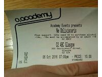 Ne Obliviscaris ticket O2 ABC2 Glasgow 6th October