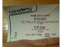 Ne Obliviscaris ticket O2 ABC2 Glasgow 6th October