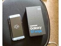 Samsung galaxy s7 edge blue coral unlocked boxed