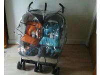 Cosatto Double twin pushchair buggy