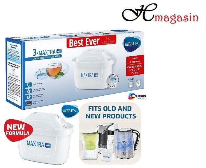 4 Pack-Filtri BRITA MAXTRA Plus UNIVERSALE Cartucce Filtro Acqua Originale