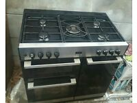 "GAS COOKER"" BELLING"" 90cm. ELECTRIC OVEN"