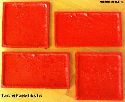 4 Bricktile Stone Vertical Concrete Cement Texture Imprint Impression Stamp