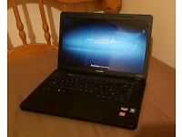 "Compaq Cq57, 15.6"" Windows 7, 4gb ram, 250gb hdd, webcam, wifi, HDMI, office"
