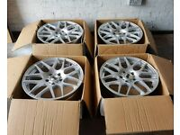 "18"" DRC Alloy wheels 5x120 bmw staggered fitment"