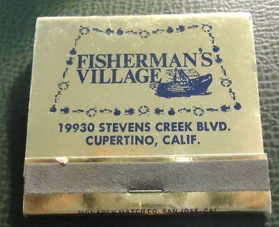 Matchbook   Fishermans Village Cupertino Ca 30 Strike Full