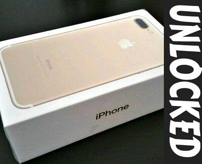 Apple iPhone 7 Plus 256GB GOLD (UNLOCKED) Verizon / T-Plastic / MetroPCS *NEW*