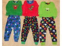 warm, winter boys pyjamas 2-3 years